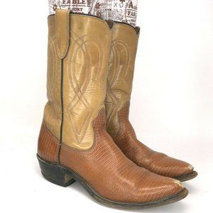 Texas Boot Co. Men's Western Cowboy Boots Size 7